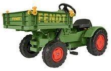 Traktor na šliapanie Fendt BIG s vyklápačkou a klaksónom zelený