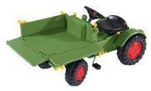 Detské šliapacie vozidlá - Traktor na šliapanie Fendt BIG s vyklápačkou a klaksónom zelený_2