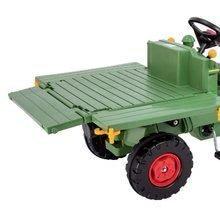 Detské šliapacie vozidlá - Traktor na šliapanie Fendt BIG s vyklápačkou a klaksónom zelený_3