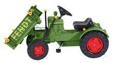 Detské šliapacie vozidlá - Traktor na šliapanie Fendt BIG s vyklápačkou a klaksónom zelený_4