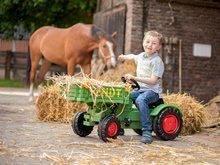 Detské šliapacie vozidlá - Traktor na šliapanie Fendt BIG s vyklápačkou a klaksónom zelený_5