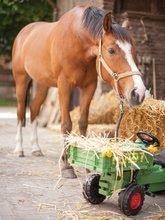 Detské šliapacie vozidlá - Traktor na šliapanie Fendt BIG s vyklápačkou a klaksónom zelený_6