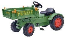 Traktor na pedale Fendt Big na verižni pogon s kesonom in hupo