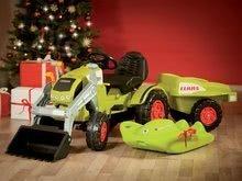 Otroška vozila na pedala - Traktor na pedale Claas Celtis BIG s prikolico_12