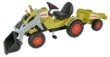 Traktor pro děti na šlapání Claas Celtis BIG s vlečkou