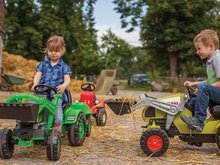 Otroška vozila na pedala - Traktor na pedale Claas Celtis BIG s prikolico_9