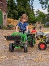 Otroška vozila na pedala - Traktor na pedale Claas Celtis BIG s prikolico_10