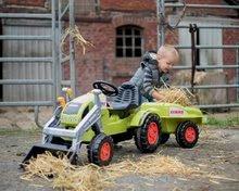 Otroška vozila na pedala - Traktor na pedale Claas Celtis BIG s prikolico_11