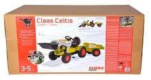 Otroška vozila na pedala - Traktor na pedale Claas Celtis BIG s prikolico_14