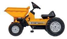 Otroška vozila na pedala - Traktor s sprednjim zabojem Jim Dumper BIG s premičnimi deli, na verižni pogon_0
