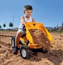 Otroška vozila na pedala - Traktor s sprednjim zabojem Jim Dumper BIG s premičnimi deli, na verižni pogon_1
