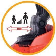 Detské šliapacie vozidlá - Vysokozdvižný vozík na šliapanie Linde BIG s paletou červeno-čierny_6