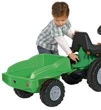 Detské šliapacie vozidlá - Vlečka k traktorom BIG zelená_1