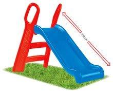Skluzavky pro děti - Skluzavka Baby BIG 118 cm robustní modro-červená_3