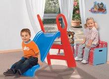Skluzavky pro děti - Skluzavka Baby BIG 118 cm robustní modro-červená_8