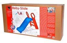 Skluzavky pro děti - Skluzavka Baby BIG 118 cm robustní modro-červená_10