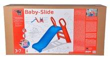 Skluzavky pro děti - Skluzavka Baby BIG 118 cm robustní modro-červená_11