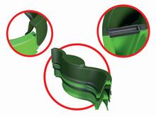 Pieskoviská pre deti - Pieskovisko Vario BIG štvorlístok s plachtou 112*112 cm zelené od 12 mes_7