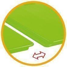 Pieskoviská pre deti - Pieskovisko s vodnou dráhou Sandy BIG s krytom objem 239 litrov 138*138 cm zelené od 12 mes_7