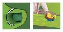 Pieskoviská pre deti - Pieskovisko s vodnou dráhou Sandy BIG s krytom objem 239 litrov 138*138 cm zelené od 12 mes_2
