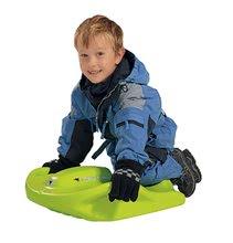 Dětské boby Snow Speedy BIG s úchyty robustní od 6 let zelené