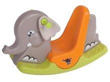 Hojdačka pre deti Slon BIG s pohyblivými ušami od 1-5 rokov