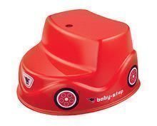 Schodíky autíčko BIG červené od 18 mes