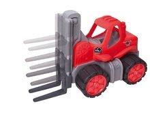 Stavebné stroje - Vysokozdvižný vozík Power BIG veľký dĺžka 42 cm červený od 24 mes_0