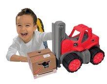Stavebné stroje - Vysokozdvižný vozík Power BIG veľký dĺžka 42 cm červený od 24 mes_3