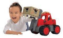 Stavebné stroje - Vysokozdvižný vozík Power BIG veľký dĺžka 42 cm červený od 24 mes_4