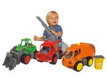 Poľnohospodárske stroje - Traktor Power BIG s nakladačom a prívesom dĺžka 66 cm zelený od 24 mes_8