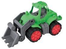 Tractor de jucărie Power BIG cu încărcător frontal verde de la 24 luni