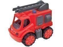 Tűzoltóautó gyerekeknek Power BIG hossza 31 cm 2 éves kortól piros