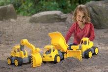 Stavebné stroje - Bager Power BIG veľký pracovný stroj dĺžka 67 cm žltý od 24 mes_18
