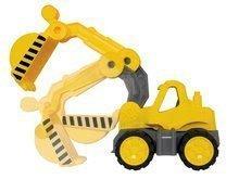 Stavebné stroje - Bager Power BIG veľký pracovný stroj dĺžka 67 cm žltý od 24 mes_2