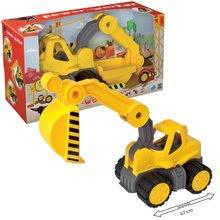 Stavebné stroje - Bager Power BIG veľký pracovný stroj dĺžka 67 cm žltý od 24 mes_15