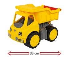 Nákladné autá - Nákladné auto Power BIG dĺžka 33 cm žlté od 24 mes_3