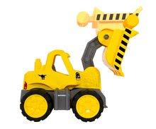 Stavebné stroje - Nakladač Power BIG pracovný stroj dĺžka 47 cm žltý od 24 mes_1