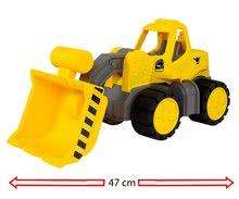 Stavebné stroje - Nakladač Power BIG pracovný stroj dĺžka 47 cm žltý od 24 mes_2