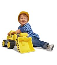 Stavebné stroje - Nakladač Power BIG pracovný stroj dĺžka 47 cm žltý od 24 mes_3