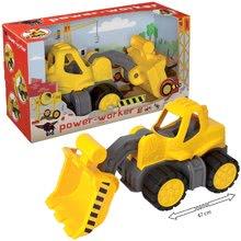 Stavebné stroje - Nakladač Power BIG pracovný stroj dĺžka 47 cm žltý od 24 mes_16