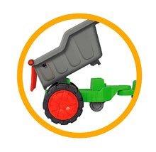 Poľnohospodárske stroje - Traktor Power BIG s nakladačom a prívesom dĺžka 66 cm zelený od 24 mes_6