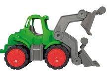 Poľnohospodárske stroje - Traktor Power BIG s nakladačom a prívesom dĺžka 66 cm zelený od 24 mes_0