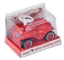 Odrážadlá sety - Set odrážadlo New Bobby BIG s klaksónom červené a autíčko New Mini Bobby na naťahovanie_9