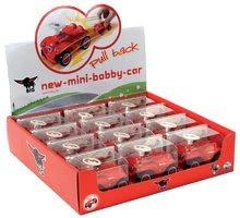 Odrážadlá sety - Set odrážadlo New Bobby BIG s klaksónom červené a autíčko New Mini Bobby na naťahovanie_19