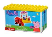 Stavebnice BIG-Bloxx ako lego - Stavebnica Peppa Pig na nástupišti PlayBIG Bloxx BIG s 1 figúrkou 15 dielov od 1,5-5 rokov_2