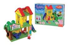 Stavebnice BIG-Bloxx ako lego - Stavebnica Peppa Pig na ihrisku PlayBIG Bloxx BIG s 2 figúrkami 75 dielov od 1,5-5 rokov_2