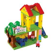 Stavebnice BIG-Bloxx ako lego - Stavebnica Peppa Pig na ihrisku PlayBIG Bloxx BIG s 2 figúrkami 75 dielov od 1,5-5 rokov_1