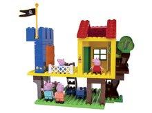 Stavebnice BIG-Bloxx ako lego - Stavebnica Peppa Pig v domčeku na strome PlayBIG Bloxx BIG so 4 figúrkami 94 dielov od 1,5-5 rokov_0