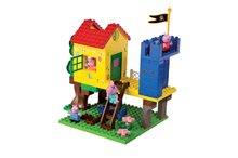 Stavebnice BIG-Bloxx ako lego - Stavebnica Peppa Pig v domčeku na strome PlayBIG Bloxx BIG so 4 figúrkami 94 dielov od 1,5-5 rokov_1